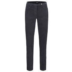 Robell 'Bella' 78cm Cord Trousers - Grey