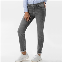 Brax 'Shakira' Slim Fit Jeans - Used Grey