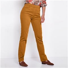 Relaxed by Toni 'Alice' Pull On Trousers - Curry