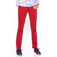 Relaxed by Toni 'Alice' Pull On Trousers - Red