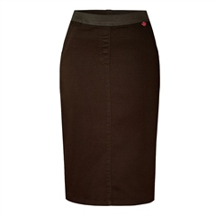 Toni 'My Darling' Pull On Skirt - Brown