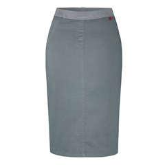 Relaxed by Toni 'My Darling' Pull On Skirt - Grey Denim