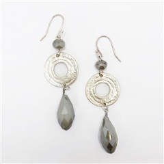 Envy Jewellery Facet Drop Earrings