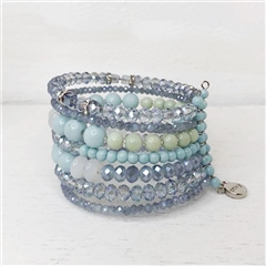 Envy Jewellery Beaded Cuff Bracelet