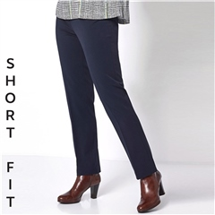 Toni 'Steffi' Short Fit Classic Trousers - Marine