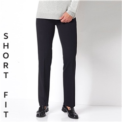 Toni 'Steffi' Short Fit Classic Trousers - Black