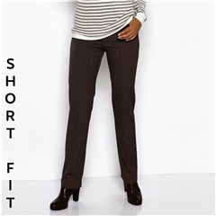 Toni 'Steffi' Short Fit Classic Trousers - Chestnut
