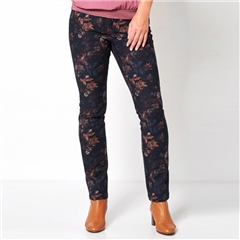 Toni 'My Best Friend' Floral Print Trousers
