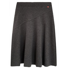 Toni 'True Love' Pull On A-Line Skirt - Black