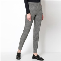 Toni 'Alice' Check Trousers - Carbon