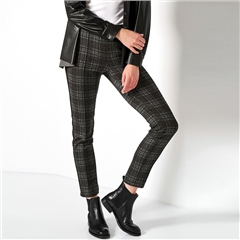 Toni 'Jenny' Classic Check Ankle Trousers