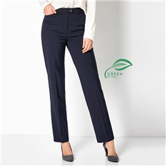 Toni 'Green by Toni' Classic Trousers - Dark Blue