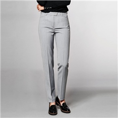 Toni 'Green by Toni' Classic Trousers - Light Grey