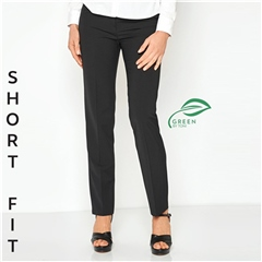 Toni 'Green by Toni' Short Fit Classic Trousers - Black