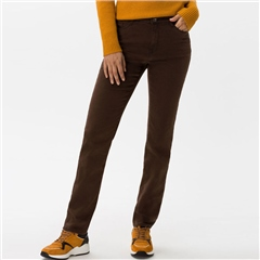 Brax 'Mary' Regular Fit Jeans - Brown