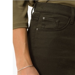 Brax Short Fit 'Mary' Jeans - Olive