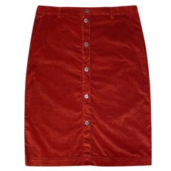 Brax 'Kailyn' Cord Skirt - Cinnamon