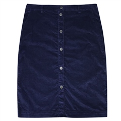 Brax 'Kailyn' Cord Skirt - Navy