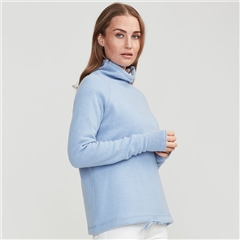 Holebrook 'Martina' Windproof Jumper - Light Blue