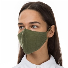 Grizas Reusable Linen Face Mask - Khaki