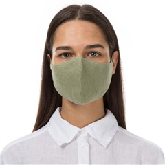 Grizas Reusable Linen Face Mask - Sage
