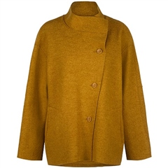 Oska 'Poza' 100% Virgin Wool Jacket - Honey