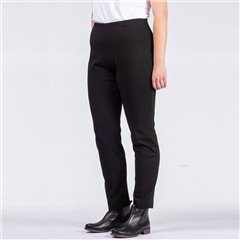 Oska 'Valla' Regular Fit Pull-On Trousers - Black