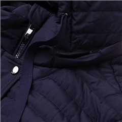 Olsen Padded Hooded Coat