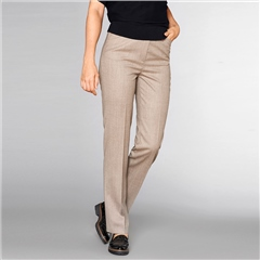 Toni 'Steffi' Classic Wool Blend Trousers - Camel