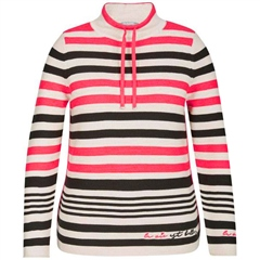 Rabe High Neck Striped Jumper