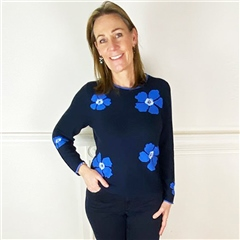 Rabe Flower Print Jumper