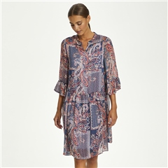 Cream 'Sheena' Paisley Print Dress
