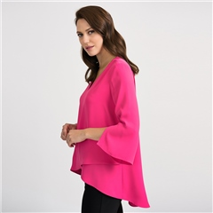 Joseph Ribkoff Layered Detail Long Blouse
