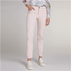 Oui 'Baxtor' Slim Fit Jeggings - Peach Whip