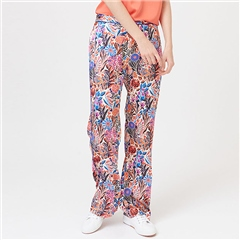 Dea Kudibal 'Coco' Floral Print Stretch Silk Trousers - Floral