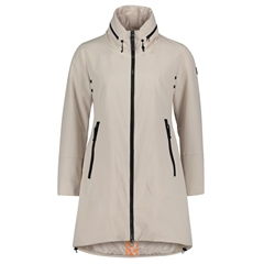 Betty Barclay Water Repellant Rain Coat - Pastel Sand