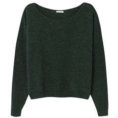 American Vintage 'Damsville' Wool Blend Jumper - Alligator Chine