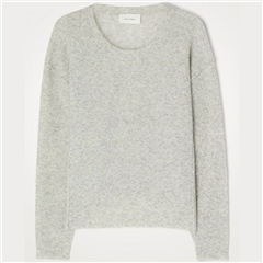 American Vintage 'Razpark' Wool Blend Jumper - Polaire Chine