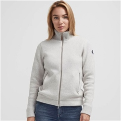 Holebrook 'Claire' Wool Windproof Jacket - Light Grey