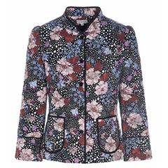 Dea Kudibal 'Rosy' Flowerfield Print Jacket