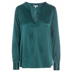 Dea Kudibal 'Santena' Stretch Silk Tunic - Leaf
