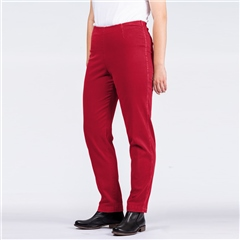 Oska 'Ropa' Pull-On Trousers - Cherry