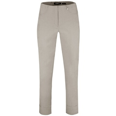 Robell 'Bella' 7/8th Pull-On Trousers - Light Taupe