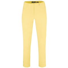 Robell 'Bella' 7/8th Pull-On Trousers - Yellow