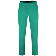 Robell 'Bella' 7/8th Pull-On Trousers - Aqua Green
