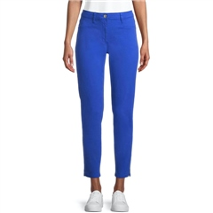Betty Barclay 7/8th Slim Fit Cotton Trousers - Deep Ultramarine