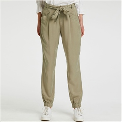 Cream 'Oda' Cargo-Style Trousers With Tie-Belt - Mermaid