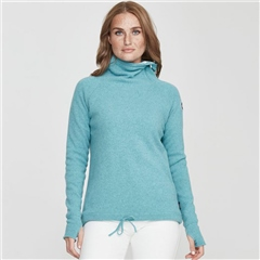Holebrook 'Martina' Wool Windproof Jumper - Blue Haze