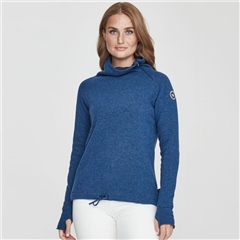 Holebrook 'Martina' Wool Windproof Jumper - Dark Royal