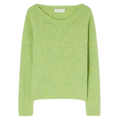 American Vintage 'East' Wool Blend Jumper - Chrysalide Chine